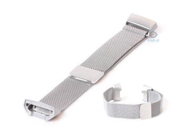Fitbit Charge 3 horlogeband milanees zilver
