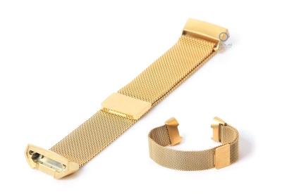 Fitbit Charge 3 horlogeband milanees goud