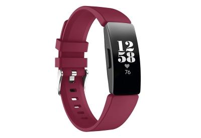 Fitbit Inspire horlogeband wijnrood
