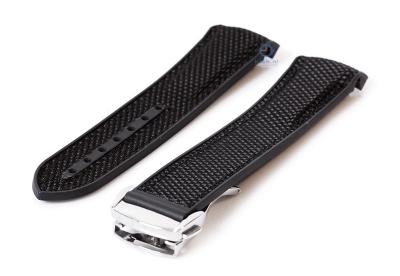 Omega seamaster horlogeband 22mm zwart