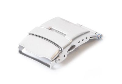 Vouwsluiting 20mm mat zilver