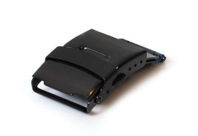 Vouwsluiting 20mm mat zwart