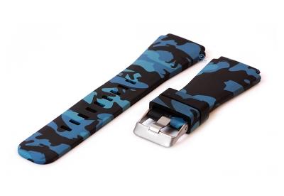 Samsung Galaxy 46mm horlogeband army donker blauw