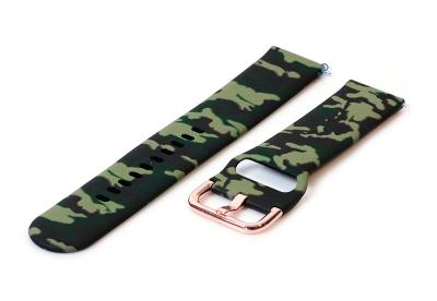 Siliconen horlogeband 20mm armygreen
