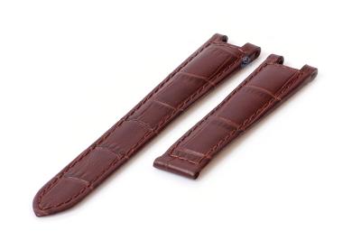 Horlogeband Cartier Versailles 16mm bruin
