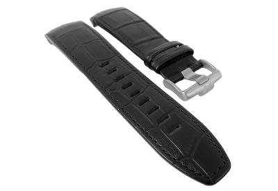 Jacques Lemans horlogeband F5043 zwart