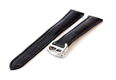Horlogeband Cartier 16/14mm zwart