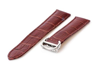 Horlogeband Cartier 20/18mm bruin