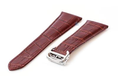 Horlogeband Cartier 23/18mm bruin