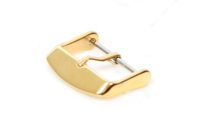 Horlogeband gesp 14mm goud