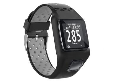 TomTom 1 universeel horlogeband zwart - grijs