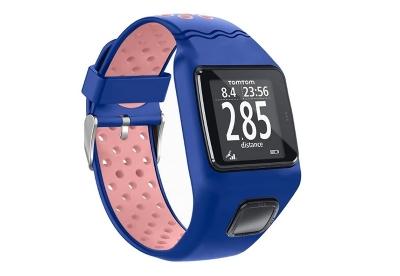 TomTom 1 universeel horlogeband blauw - roze