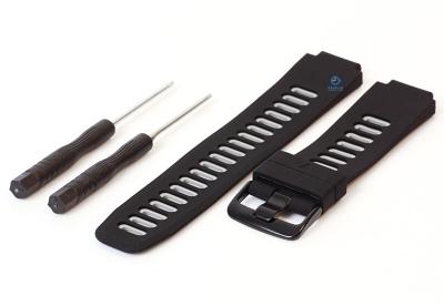 Garmin Forerunner 735XT horlogeband zwart/grijs