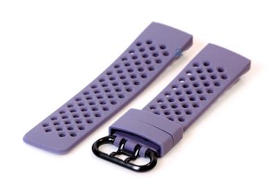 Fitbit Charge 3 perforated horlogeband lavendel