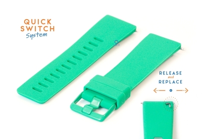 Fitbit Versa horlogeband siliconen mintgroen (S)