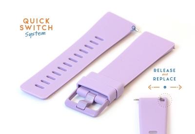 Fitbit Versa horlogeband siliconen lila (S)