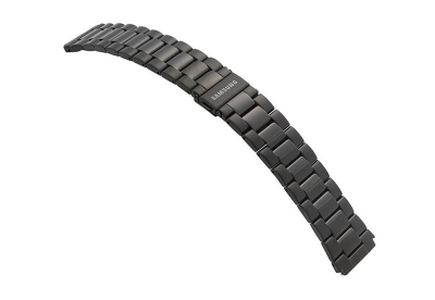 Samsung Galaxy horlogeband staal zwart (42mm)