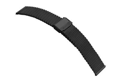 Samsung Galaxy Active2 horlogeband milanees zwart (44mm)