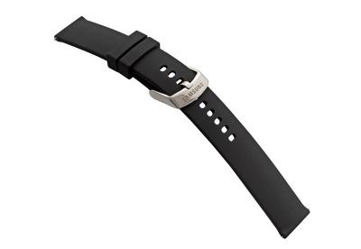 Samsung Galaxy Watch 3 horlogeband siliconen zwart - 45mm