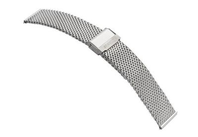 Samsung Galaxy Watch 3 horlogeband milanees zilver (41mm)