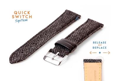 Fromanteel horlogeband Wool zwart