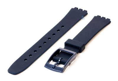 Swatch Lady horlogeband 12mm donkerblauw