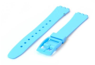 Swatch Lady horlogeband 12mm pastel blauw