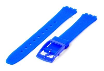 Swatch Lady horlogeband 12mm royal blauw