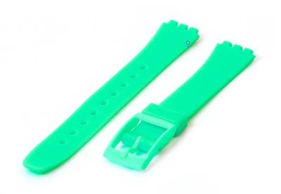 Swatch Lady horlogeband 12mm mintgroen