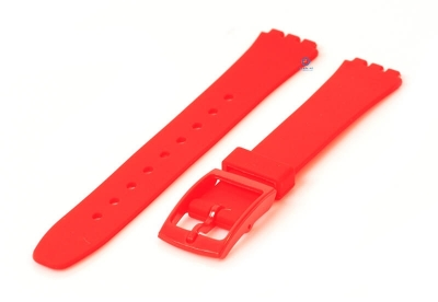Swatch Lady horlogeband 12mm rood
