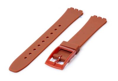 Swatch Lady horlogeband 12mm bruin