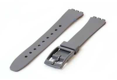 Swatch Lady horlogeband 12mm grijs