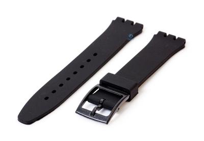 Swatch Gent horlogeband 16mm zwart