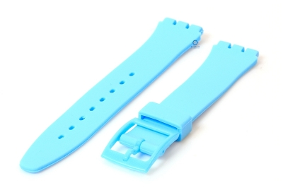 Swatch Gent horlogeband 16mm pastelblauw