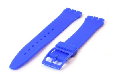 Swatch Gent horlogeband 16mm royal blauw