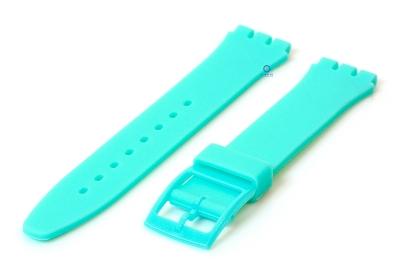 Swatch Gent horlogeband 16mm mintgroen