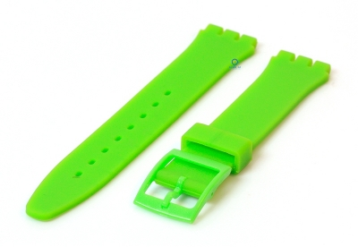 Swatch Gent horlogeband 16mm groen