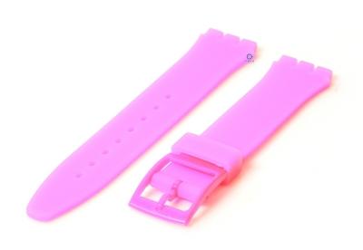 Swatch Gent horlogeband 16mm neon roze