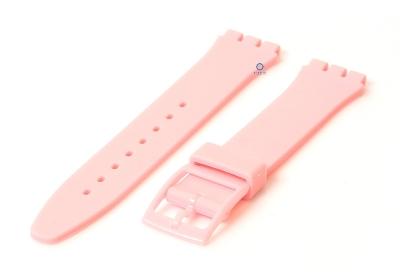Swatch Gent horlogeband 16mm roze
