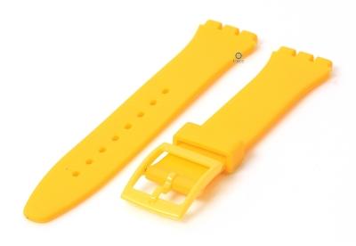 Swatch Gent horlogeband 16mm geel