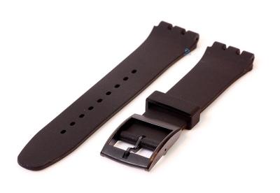 Swatch Irony Sistem51 horlogeband 20mm zwart