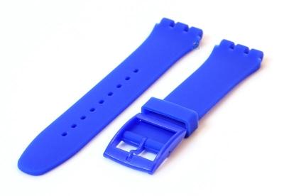 Swatch Irony Sistem51 horlogeband 20mm royal blauw