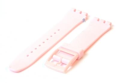 Swatch Irony Sistem51 horlogeband 20mm lichtroze