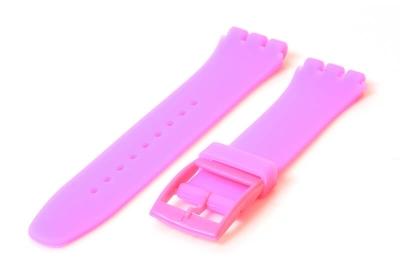 Swatch Irony Sistem51 horlogeband 20mm neon roze