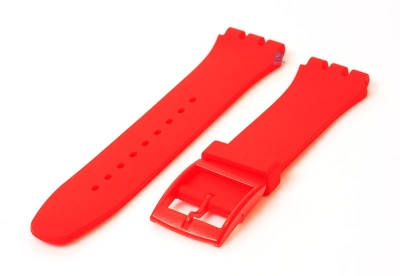 Swatch Irony Sistem51 horlogeband 20mm rood
