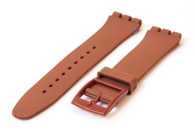 Swatch Irony Sistem51 horlogeband 20mm bruin