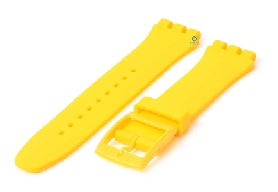 Swatch Irony Sistem51 horlogeband 20mm geel