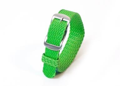 Perlon horlogeband 14mm groen