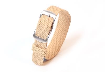 Perlon horlogeband 14mm beige