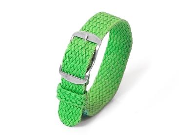 Perlon horlogeband 16mm groen